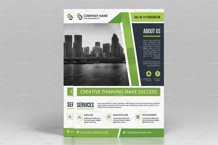2--700x467 43 Flyer templates you should download for your clients