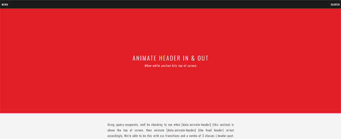 Animate-header-in_out-af_- 44 Website Header Design Examples and What Makes Them Good