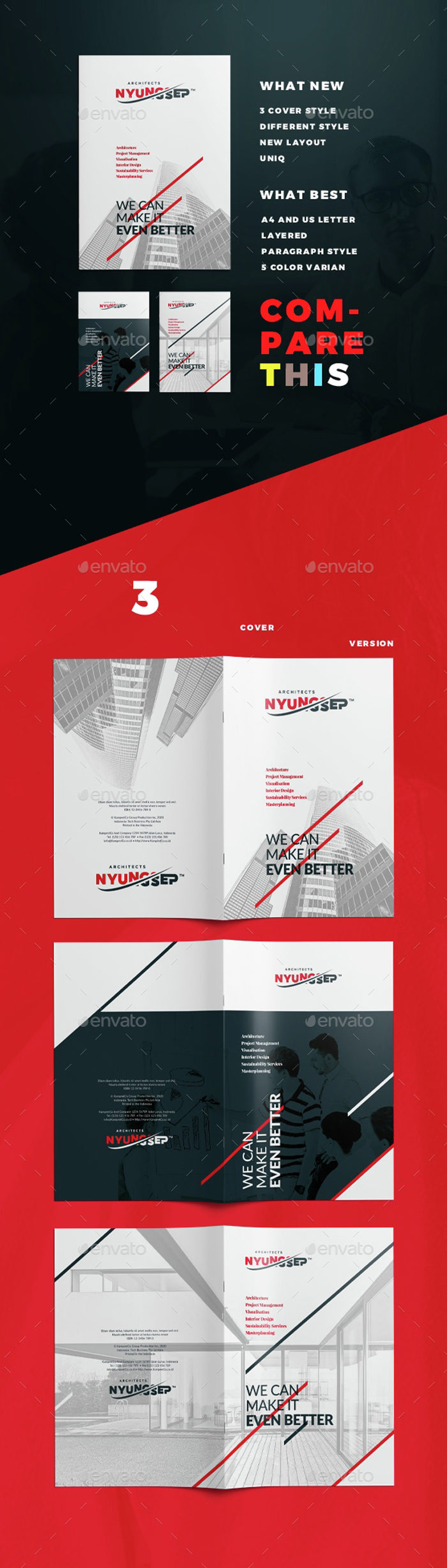 Architect-Brochure-Template-700x2458 43 Flyer templates you should download for your clients