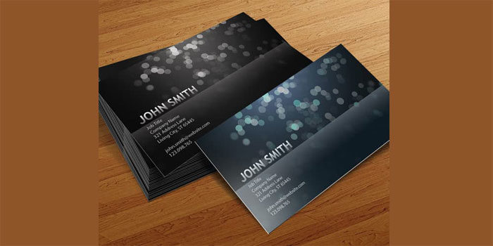 Blurry-Circles-Business-Car-700x350 Free business card templates you can download today