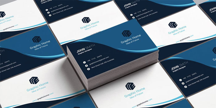 Free business card templates you can download today creative business card temp 700x350 free business card templates you can download wajeb Images