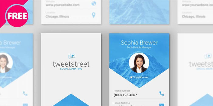 Free-Material-Design-Busine-700x350 Free business card templates you can download today