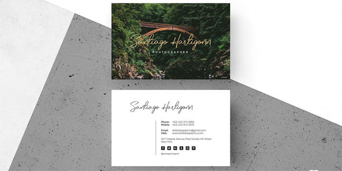 Free-Modern-Photographer-Bu-700x350 Free business card templates you can download today