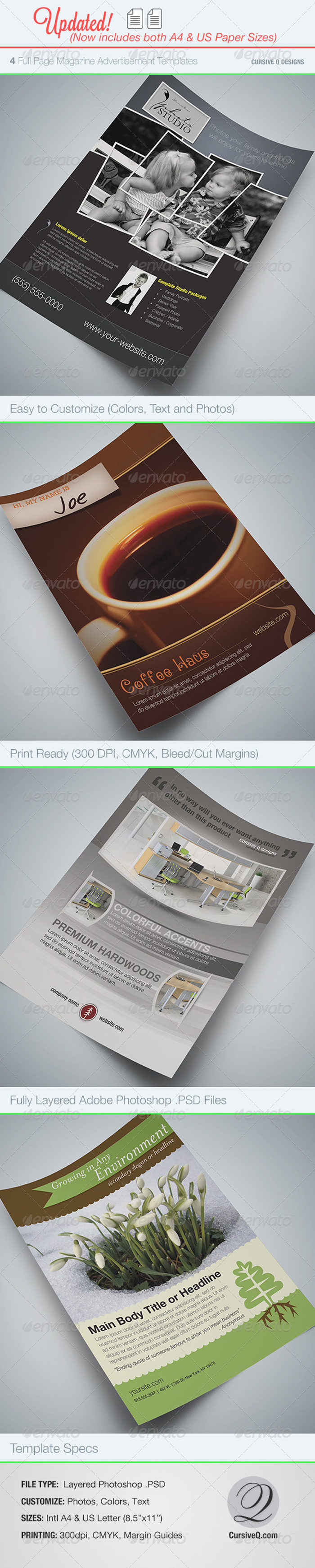 Full_Page_Magazine_Ad_Flyer-700x3474 43 Flyer templates you should download for your clients