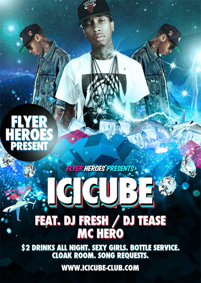 Icicube-Free-Psd-Flyer-Temp-700x988 43 Flyer templates you should download for your clients