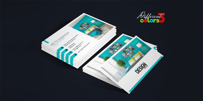 Free business card templates you can download today interior design business ca 700x350 free business card templates you can download accmission Image collections