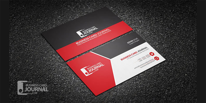 Modern-Tricolor-Business-Ca-700x350 Free business card templates you can download today