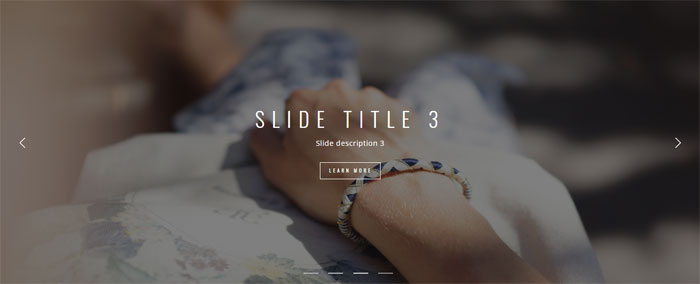 CSS slideshow examples that you can use in your websites