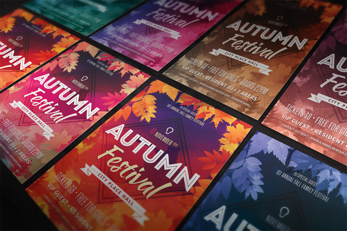 autum-free-flyer-psd-templa-700x467 43 Flyer templates you should download for your clients