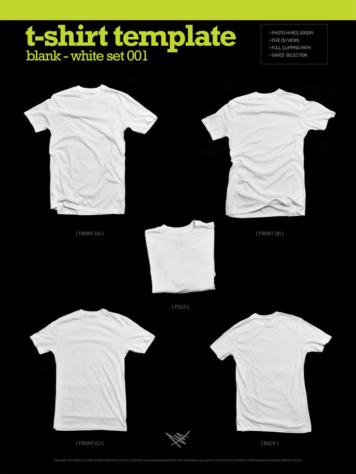 82 Free T Shirt Template Options For Photoshop And Illustrator