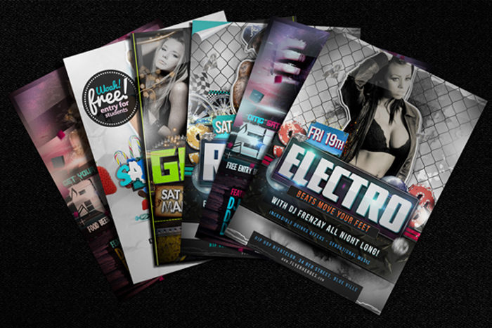 free-flyer-mock-up-example-700x467 43 Flyer templates you should download for your clients