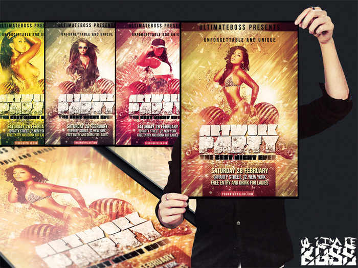 freemium_artwork_party_flye-700x524 43 Flyer templates you should download for your clients