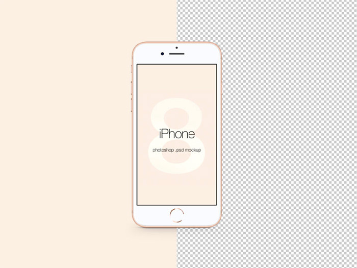 iphone-8-mock iPhone mockup templates to download for presenting your designs