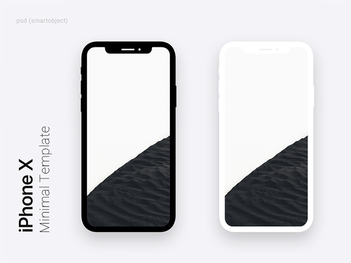 iphone-x-free-template iPhone mockup templates to download for presenting your designs