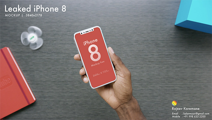 leaked-iphone-8 iPhone mockup templates to download for presenting your designs