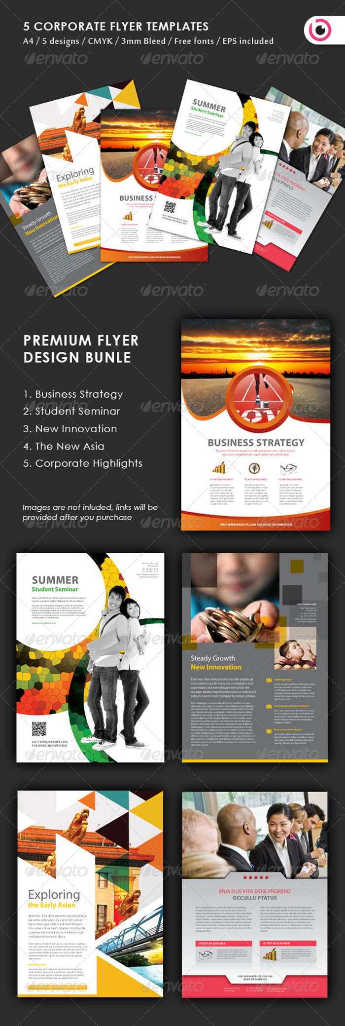 preview-1-1-700x2079 43 Flyer templates you should download for your clients
