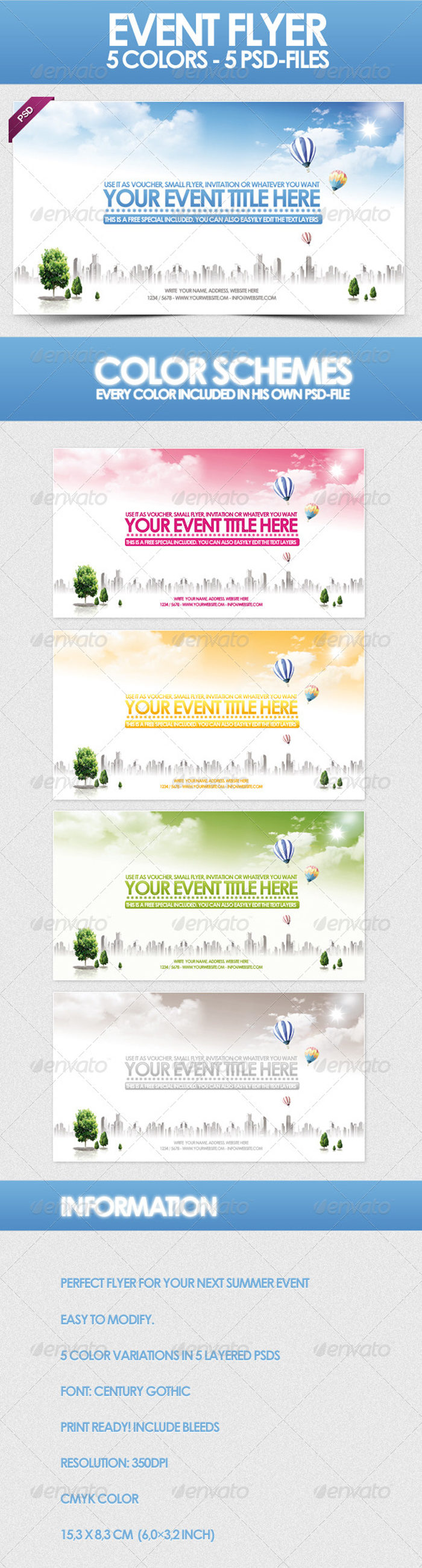 preview-1-700x2596 43 Flyer templates you should download for your clients
