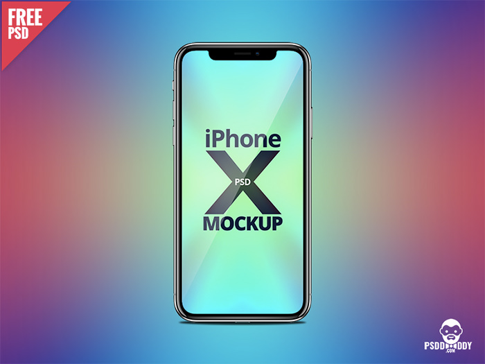 psddaddy-iphone-x iPhone mockup templates to download for presenting your designs