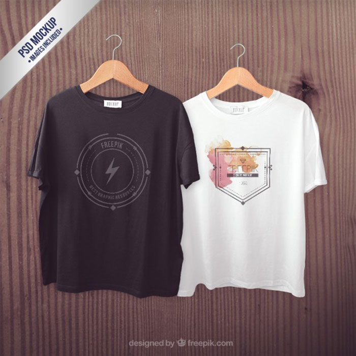 t-shirts-mockup_23-29293557 82 FREE T-Shirt Template Options For Photoshop And Illustrator