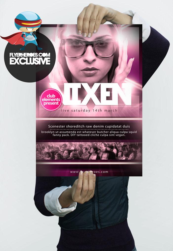 vixen-flyer-template-700x1016 43 Flyer templates you should download for your clients