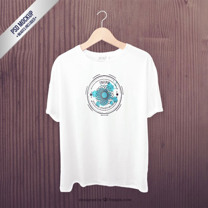 white-t-shirt-front-mockup_ 82 FREE T-Shirt Template Options For Photoshop And Illustrator