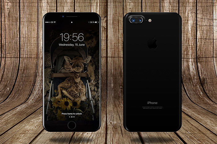 wooden-background-iphone-8 iPhone mockup templates to download for presenting your designs