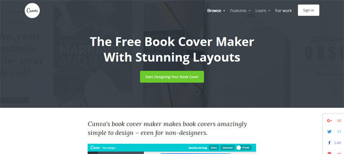 Book cover maker tools for non-designers to create awesome