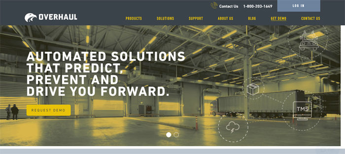 Overhaul-Supply-Chain-Sec-700x312 Website showcase: Startups and tech companies in Austin