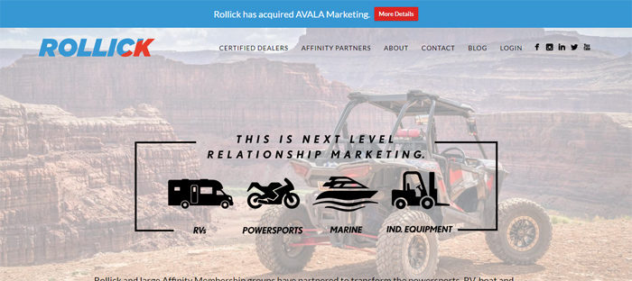 Rollick-Inc-700x312 Website showcase: Startups and tech companies in Austin