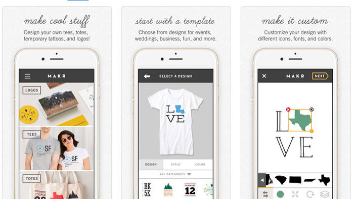 Logo maker app examples to try as an alternative to hiring a