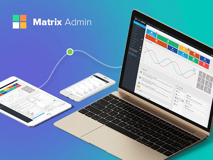 matrix-admin-ws-700x525 Free dashboard templates to download and use for a web app