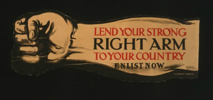 England-700x330 WW1 Posters: Recruitment and propaganda posters from the first world war