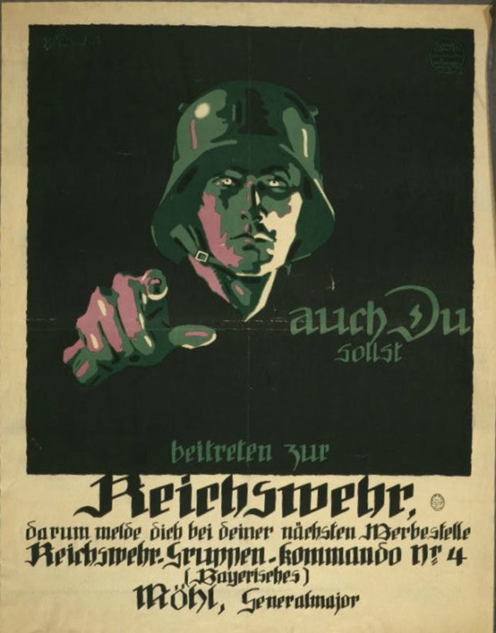 Germany-700x893 WW1 Posters: Recruitment and propaganda posters from the first world war