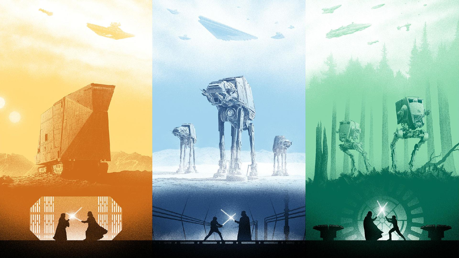 The Best Star Wars Posters Originals And Fan Made Ones