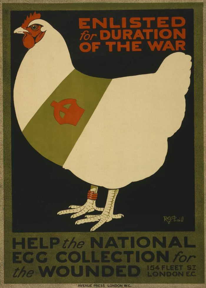 Nutrition-issues-2-700x977 WW1 Posters: Recruitment and propaganda posters from the first world war