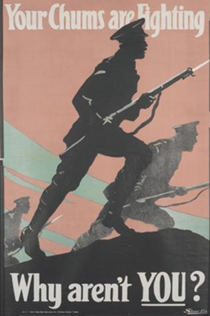 THE-GOOD-COMRADE-700x1050 WW1 Posters: Recruitment and propaganda posters from the first world war