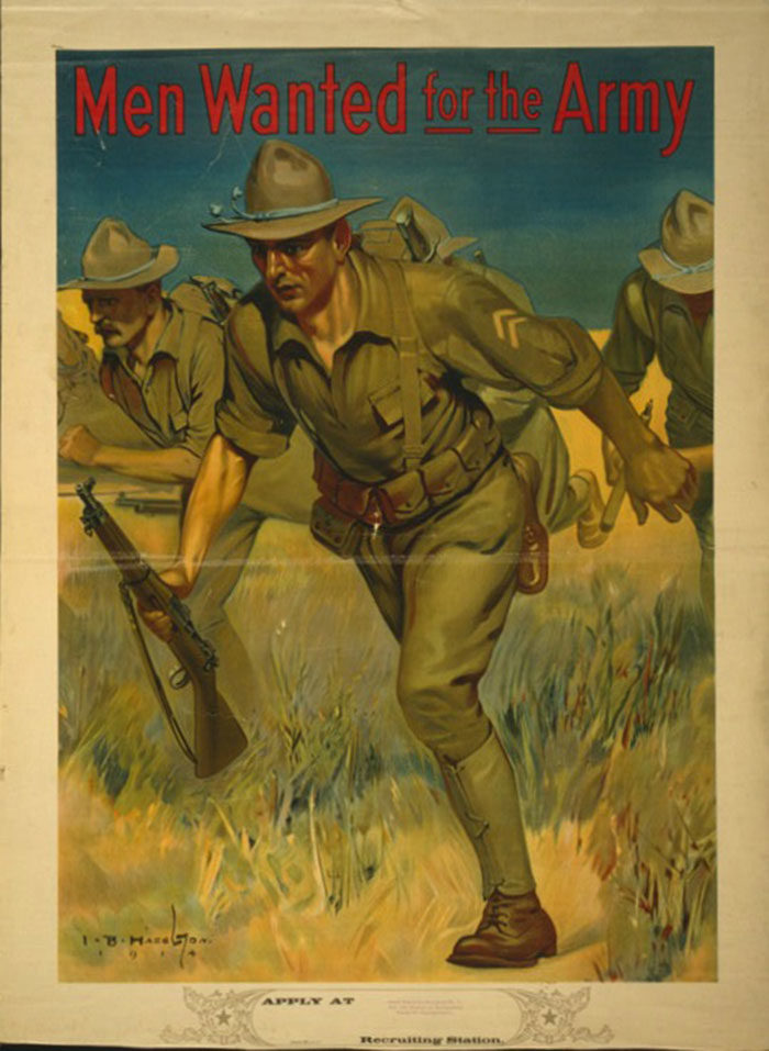 The-Army-700x957 WW1 Posters: Recruitment and propaganda posters from the first world war