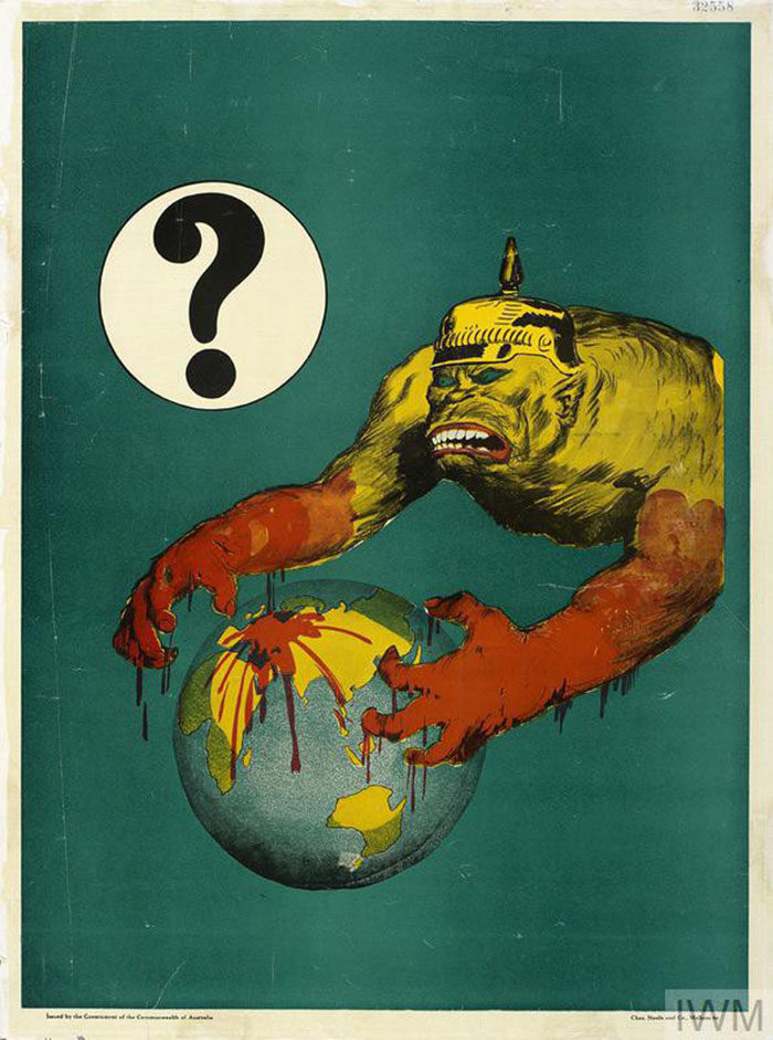 The-Question-Mark-700x941 WW1 Posters: Recruitment and propaganda posters from the first world war