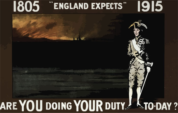 WW1-Posters-on-Temporality-and-Locality-700x445 WW1 Posters: Recruitment and propaganda posters from the first world war
