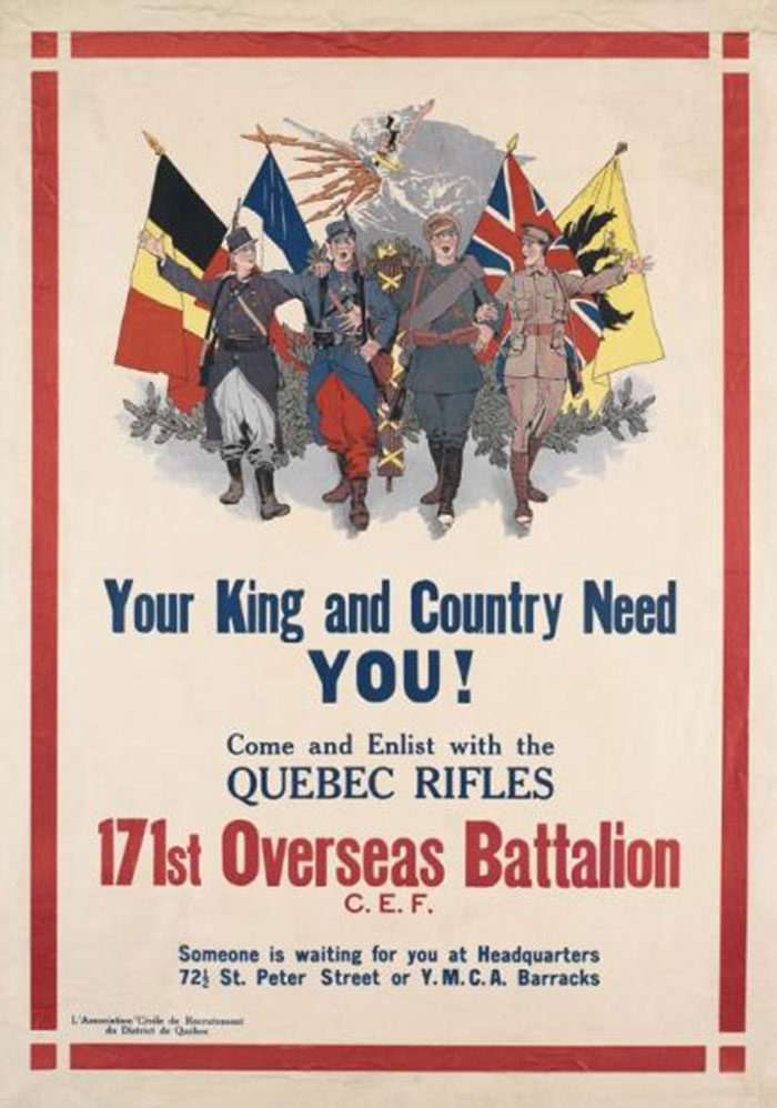 Your-King-and-Country-Need-You-700x998 WW1 Posters: Recruitment and propaganda posters from the first world war