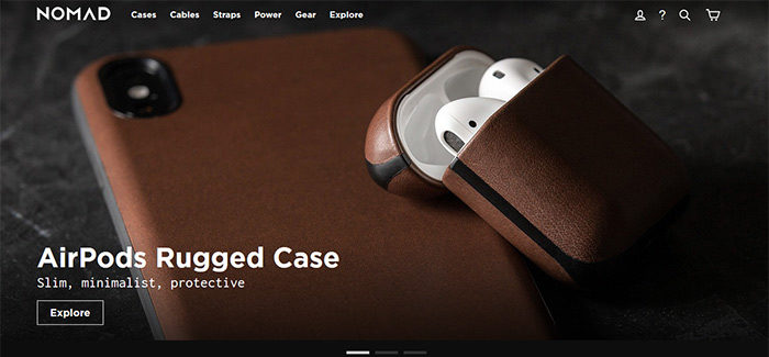 ecommerce-04-700x325 Website design inspiration: business websites, one-page, parallax sites, and more