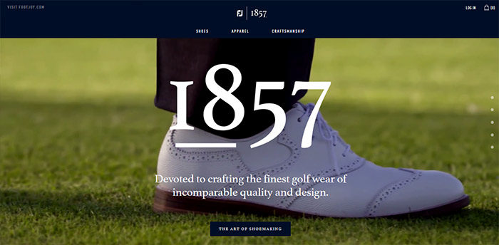 fashion-05-700x344 Website design inspiration: business websites, one-page, parallax sites, and more
