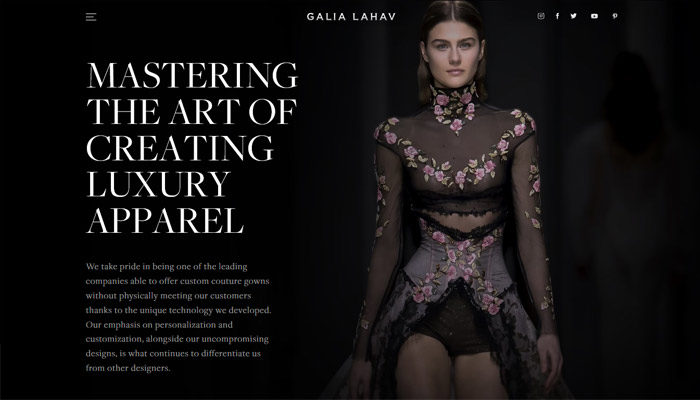 fashion-12-700x400 Website design inspiration: business websites, one-page, parallax sites, and more