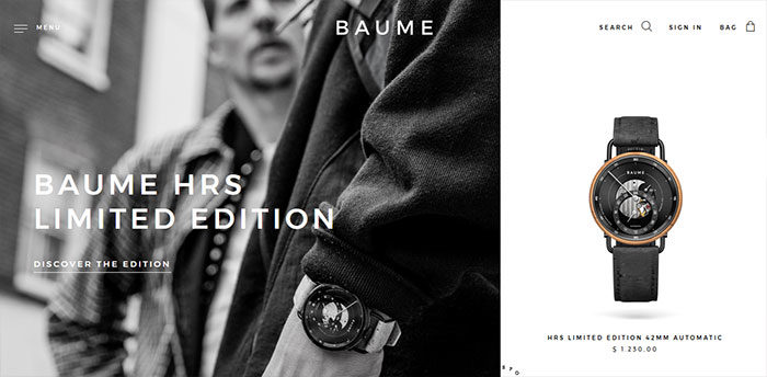 fashion-18-700x344 Website design inspiration: business websites, one-page, parallax sites, and more