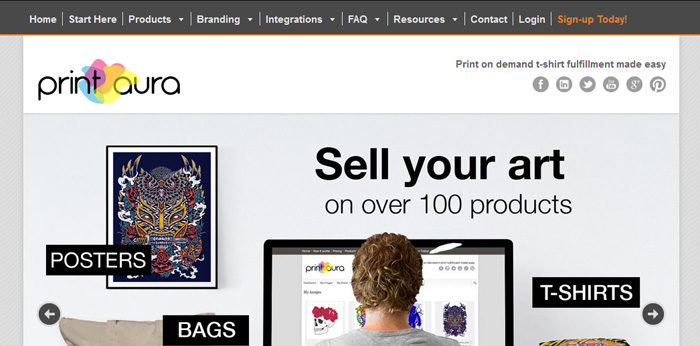 printaura-700x346 Where to sell T-Shirts online: The go-to sites