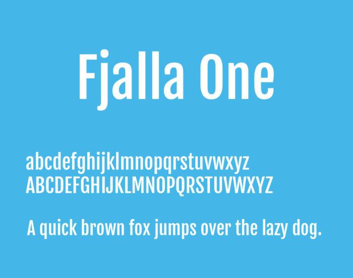 Fjalla-One-Font-700x551 Google font pairings: Font combinations that look good