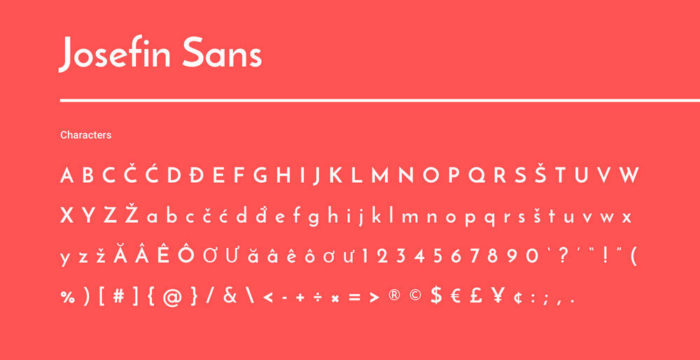 Google font pairings: Font combinations that look good