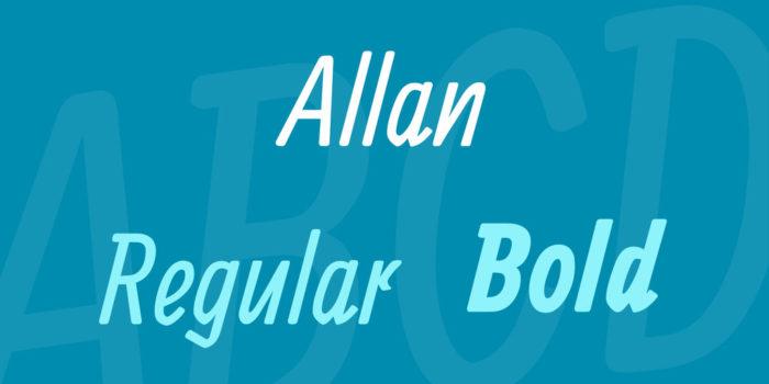 allan-font-700x350 Google font pairings: Font combinations that look good