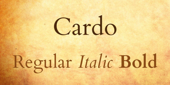 cardo-font-700x350 Google font pairings: Font combinations that look good