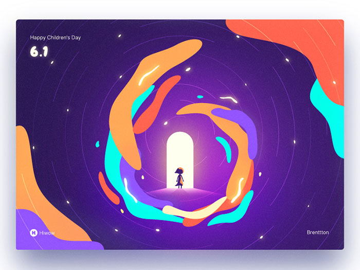happy-children_s-day Graphic design trends 2019: What will be predominant this year
